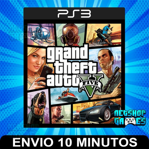 Gta 5 - Grand Theft Auto V - Ps3 Digital - Subtítulo Español
