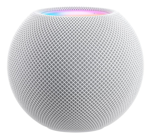 Imagen 1 de 2 de Apple HomePod Mini con asistente virtual Siri blanco