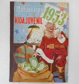 Almanaque Vida Juvenil 1953 - Com Calendário