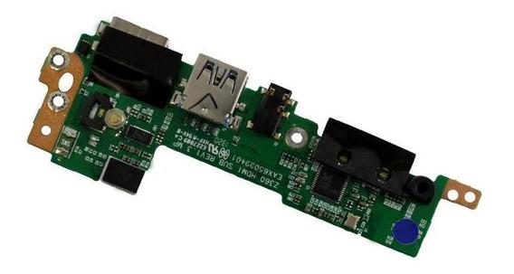 Placa Auxiliar Usb / Hdmi Lg Eax65099401 (12328)