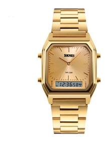 Relógio Feminino Original Skmei Aço Inox Prova D
