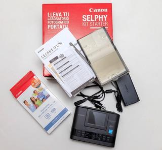 Impresora Fotográfica Canon Selphy Cp1300 Wifi + Set De 36 P