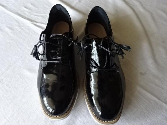 Baixei!!! Sapato Sapatenis Arezzo Em Verniz N.38