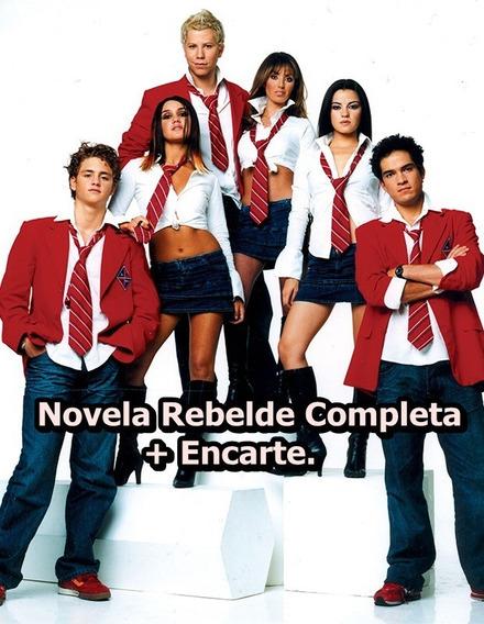 Novela Rebelde Completa - 440 Episódios 72 Discos + Encarte.