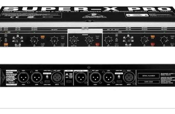Crossover Behringer Super-x Pro Cx2310