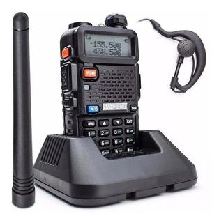 Rádio Ht Dual Band Uhf/vhf Baofeng Uv-5r Com Fone Original