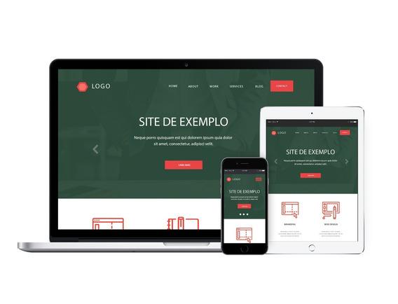 Criação De Sites Profissionais - Layout Responsivo
