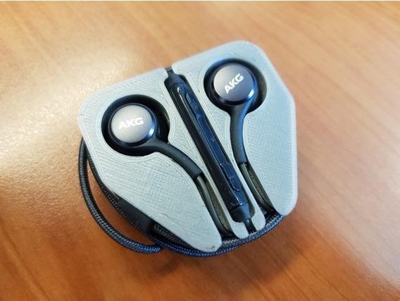 Case Fone De Ouvido Headphone Akg Samsung S9 + Brinde