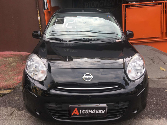 Nissan March 1.6 Sv 2012 Completo Wzapp954807662