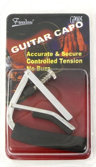 Capo Puente De Guitarra Capo Dastro Traste Freedom Gp005