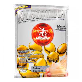 Albumina - 500 Gramas - Midway Baunilha