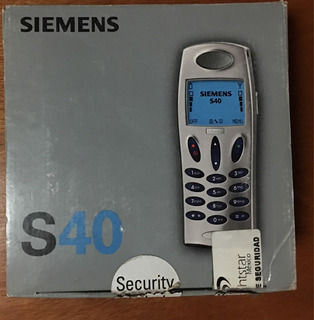 Último!!! Siemens S40 Celular Telcel Gsm Nuevo