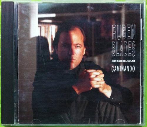 Ruben Blades. Caminando. Cd Original, Usado