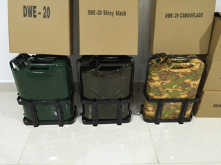 Tanque De Gasolina Metalico 4x4 Verde Militar 20 Litros