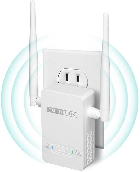 Extensor De Sinal Wifi Totolink Wireless Speed 300mbps Nf