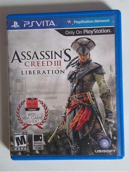 Assassins Creed Iii Liberation Em Português Para Ps Vita