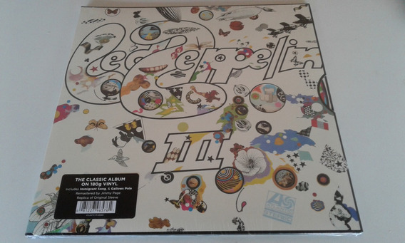 Lp Led Zeppelin Iii Vinil Novo E Lacrado