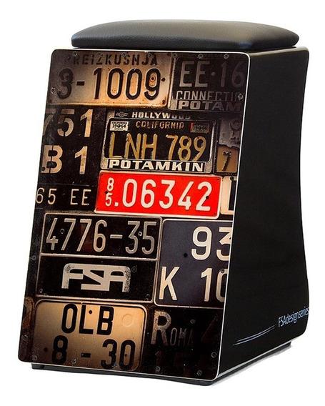 Cajon Fsa Design Series 2 Modelos 24 Fios Assento Almofadado