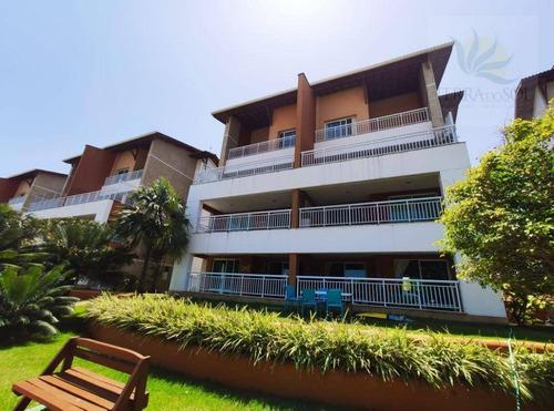 Cobertura Com 4 Dormitórios À Venda, 194 M² Por R$ 1.200.000,00 - Porto Das Dunas - Aquiraz/ce - Co0001