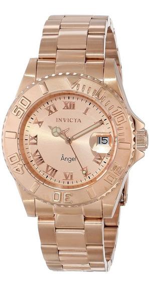 Relógio Invicta 14322 Dourado Rose Aço Angel - Black Friday