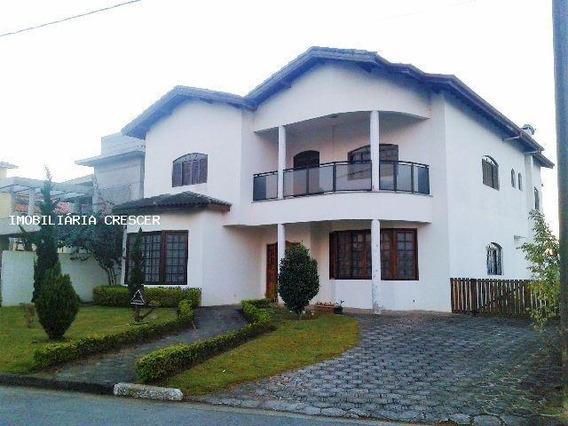 Casa Alto Padrão Para Venda Em Mogi Das Cruzes, Jd. Aracy, 5 Suítes, 1 Banheiro - Cap05