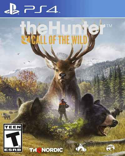 Ps4 The Hunter Call Of The Wild / Fisico