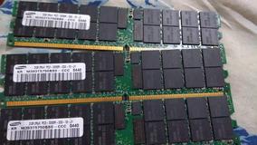 Memória Samsung 2gb 2rx4 Pc2 3200r Ecc