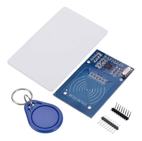 Kit Módulo Leitor Rfid Mfrc522 Para Arduino Pic Esp8266