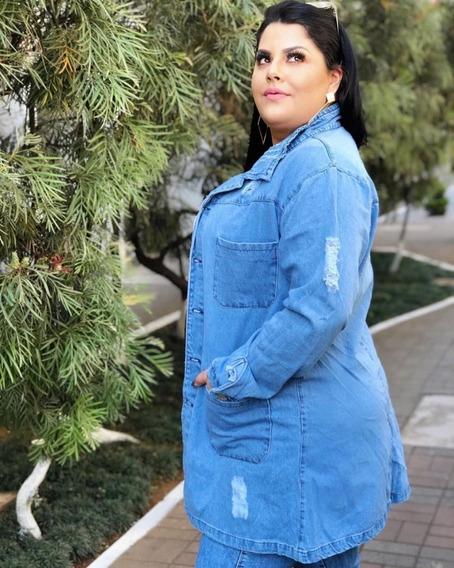 Jaqueta Maxi Plus Size Modelo 2019