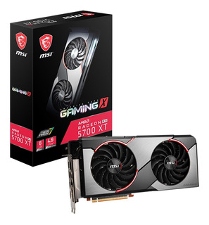 Tarjeta De Video Msi Gaming Radeon Rx 5700xt 256gb Gddr6