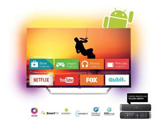 Smart Tv 4k Oled 55 Pulgadas Philips 55oled873/77 Ambilight