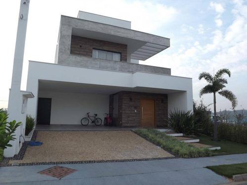 Imagem 1 de 29 de Casa Com 3 Dormitórios À Venda, 250 M² Por R$ 1.590.000,00 - Condomínio Chácara Ondina - Sorocaba/sp - Ca8323