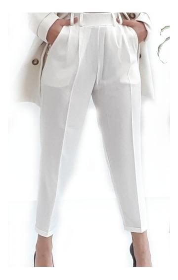 Pantalon Sastrero Con Elastico Traje