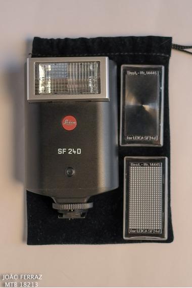Flash Leica Modelo Sf 240-confira!!