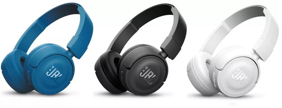 Fone De Ouvido Sem Fio Jbl T450 Bt On Ear Bluetooth Rev Ofic