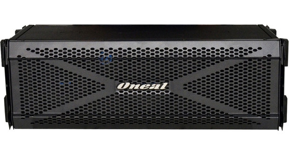 Line Array Oneal Ola 2060 700w Pico 350w Rms Ativa Preta Som Profissional Distribuição