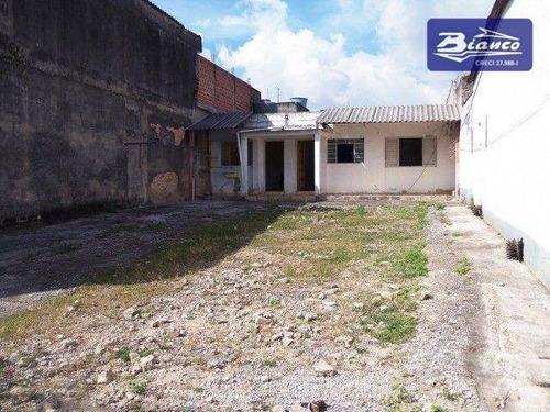 Imagem 1 de 9 de Terreno À Venda, 275 M² Por R$ 460.000 - Vila Barros - Guarulhos/sp - Ca1096