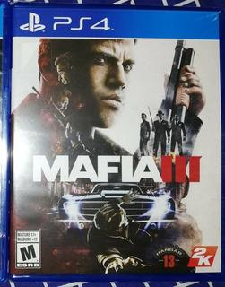 Mafia Iii, Ps4 Nuevo Y Sellado