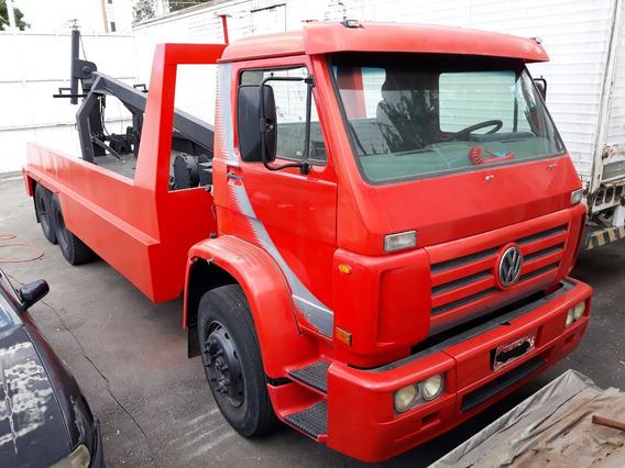 Caminhão Guincho Pesado Vermelho Volkswagen Vw 14140 1987