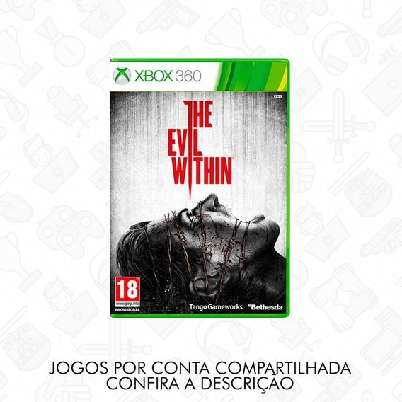 The Evil Within Xbox 360 Conta Compartilhada