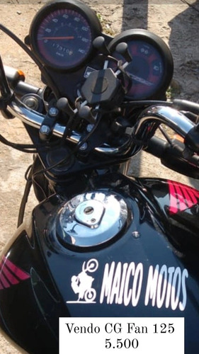 Imagem 1 de 4 de Honda Cg Fan 125 Fan Cg Fan 125