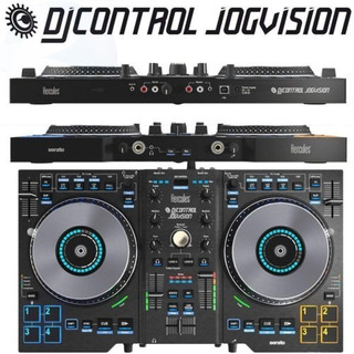 Controlador Dj Hercules Jogvision Virtual Serato Mixer
