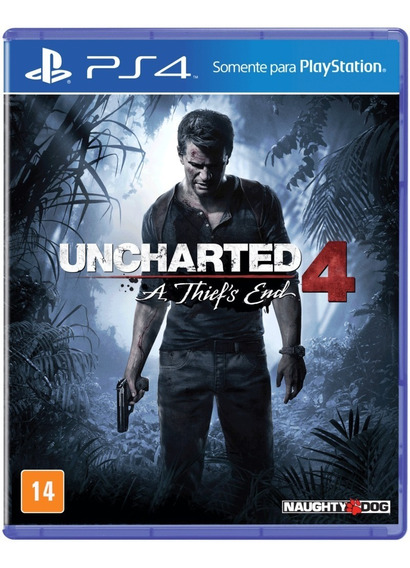 Jogo Uncharted 4 - A Thief