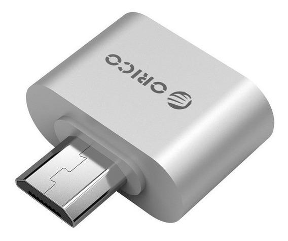 Micro Otg Usb 2.0 Adaptador Celular Pendrive Tablet Orico