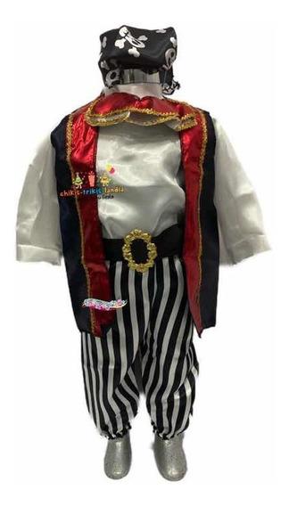 Pirata Disfraz Bebe Niño Halloween Día De Muertos