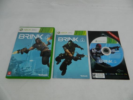 Brink - Original Xbox 360 Mídia Física - Completa