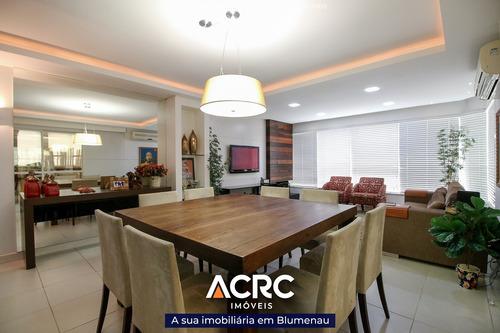 Acrc Imóveis - Apartamento À Venda No Bairro Jardim Blumenau Com Piscina Privativa - Ap04033 - 68896561