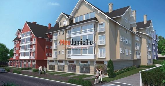 Apartamento A Venda No Bairro Centro Em Gramado - Rs. - 15638md-1