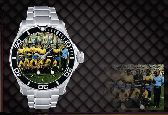 Relógio De Pulso Personalizado Copa 1970 E Timão 1977