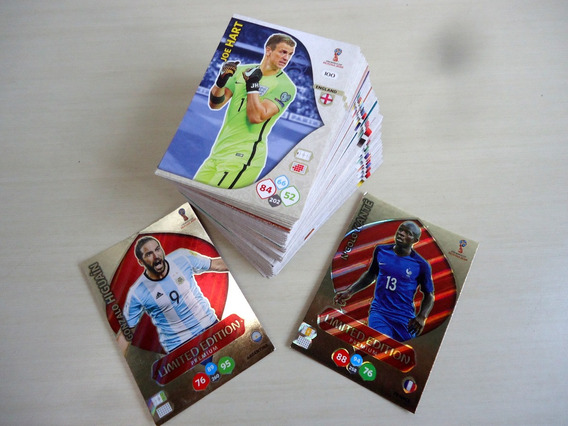 Adrenalyn Xl Fifa World Cup 2018 Russia Panini 125 Cards
